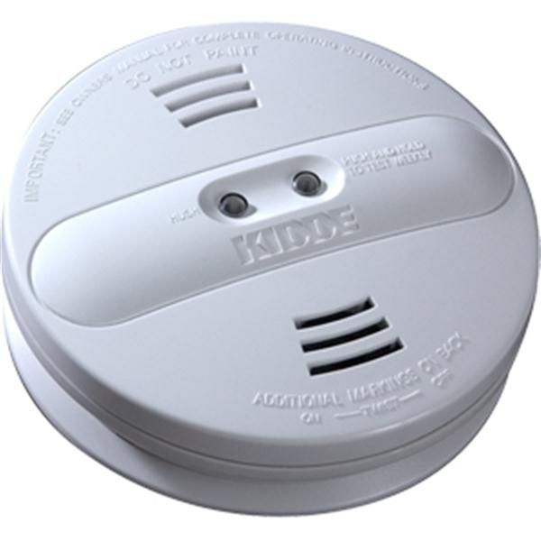 AC/DC Ionization/Photoelectric Smoke Alarm (Interconnectable)