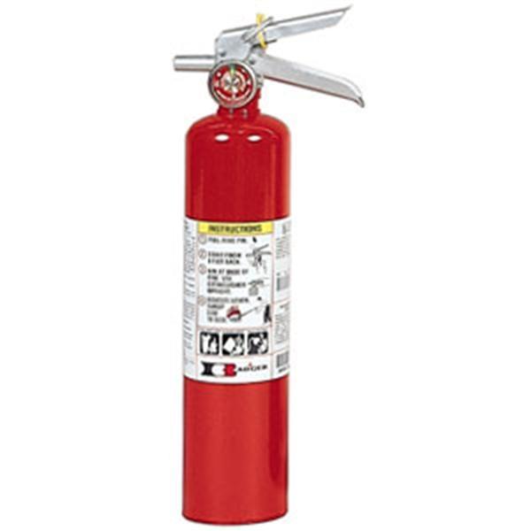 Badger™ Standard 2 1/2 lb ABC Fire Extinguisher w/ Vehicle Bracket