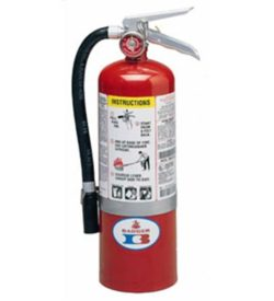 5 lb ABC Standard Line Extinguisher w/Wall Hook