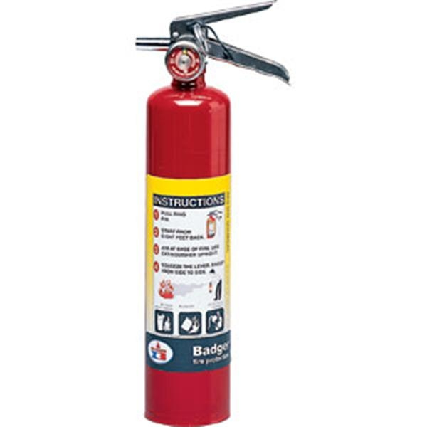 Badger™ Extra 2 1/2 lb ABC Fire Extinguisher w/ Vehicle Bracket