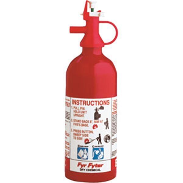 Kidde Pindicator 1 lb BC Fire Extinguisher w/ Wall Hook (Disposable)