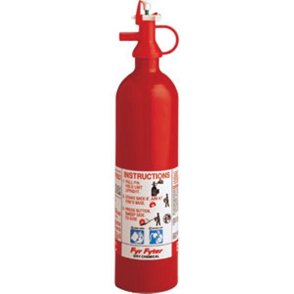 Kidde Pindicator 2 lb BC Fire Extinguisher w/ Wall Hook (Disposable)