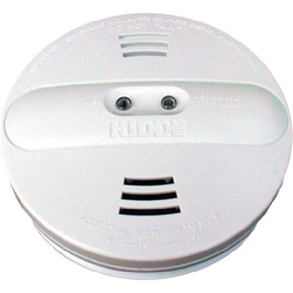 Battery Powered Ionization/Photoelectric Smoke Alarm