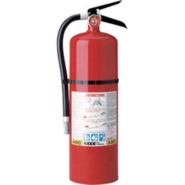 Kidde Pro Line 10 lb ABC Fire Extinguisher w/ Wall Hook