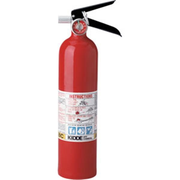 Kidde Pro Line 2 1/2 lb ABC Fire Extinguisher w/ Vehicle Bracket