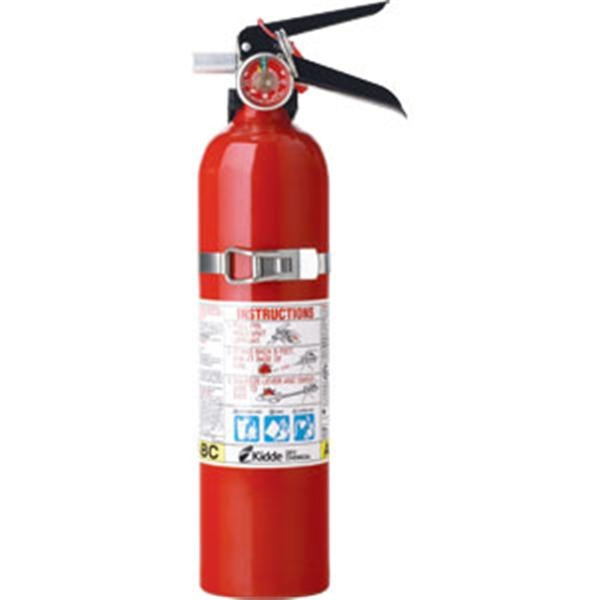 Kidde Automotive 2 1/2 lb ABC Fire Extinguisher w/ Steel Strap Bracket