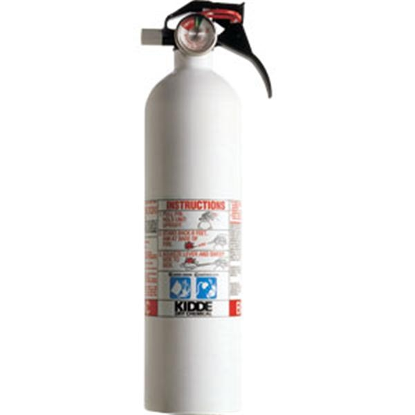 Kidde Mariner 2 3/4 lb BC Fire Extinguisher w/ Nylon Strap Bracket (Disposable)