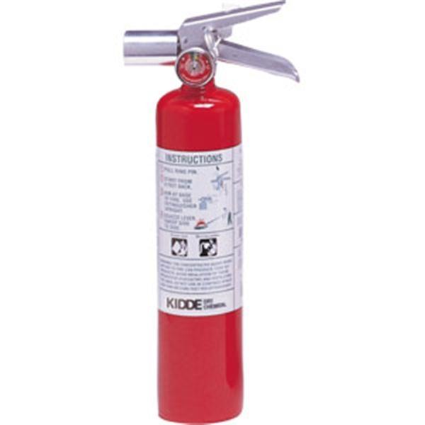 Kidde ProPlus 2 1/2 lb Halotron I™ Fire Extinguisher w/ Metal Strap Bracket