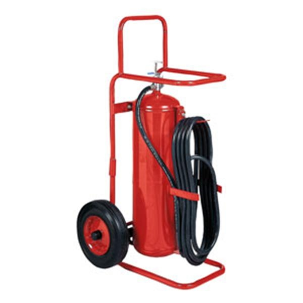 Badger™ 50 lb ABC Wheeled Stored Pressure Fire Extinguisher
