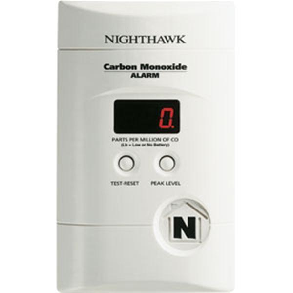 Premium Plus CO Alarm w/ Direct Plug & Battery Backup