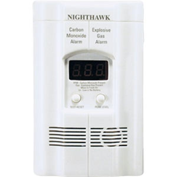 Gas/CO Combo Alarm w/ Digital Display
