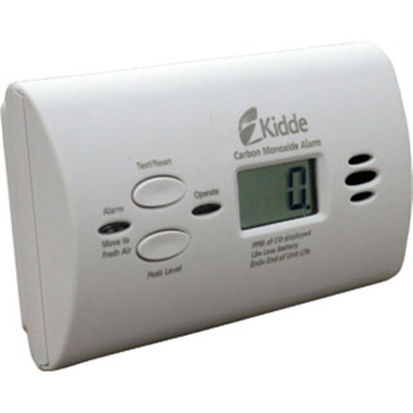 Battery Powered CO Alarm w/ Digital Display