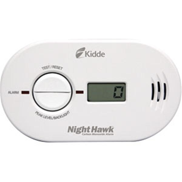 NightHawk Battery Powered CO Alarm w/ Digital Display