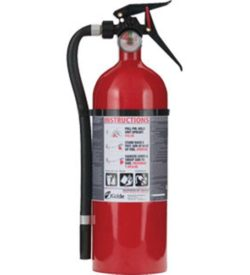 5 lb ABC Single Use MP Extinguisher w/Wall Hook