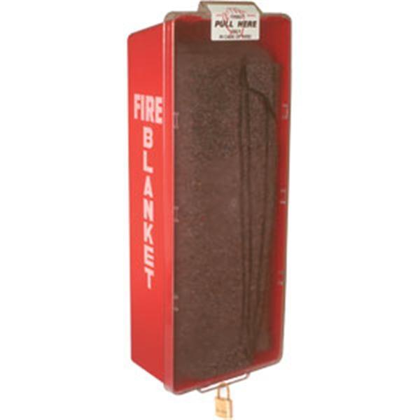 Fire Blanket & Cabinet