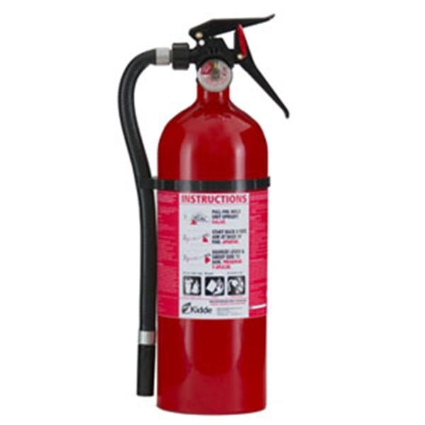 Kidde Service Lite 5 lb ABC Fire Extinguisher w/ Wall Hook (Disposable)