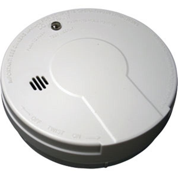 Tamper-Resistant Battery Powered Ionization Smoke Alarm