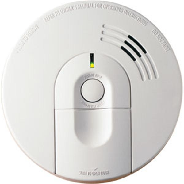 i5000 AC/DC Front Loading Ionization Smoke Alarm w/ 10-Yr Warranty (Interconnectable)