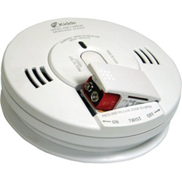Wire-In CO/Smoke Alarm w/ Voice Warning & Battery Backup
